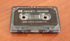 HP 82176A mini data cassette for the 82161A
