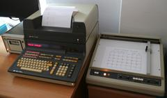 HP 9830A with printer, plotter, and cassette drive
