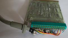 Wires from 9862A interface PCB to cable
