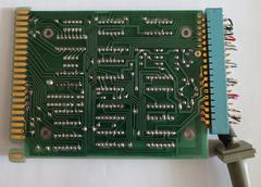 Inside the 9865A interface module (back of the PCB)