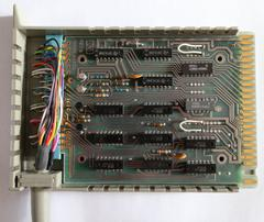 Inside the 9865A interface module