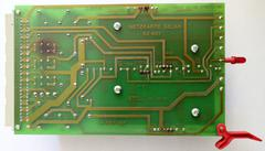 Stoll power supply card (back view)