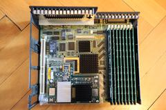 O2 motherboard with CPU module